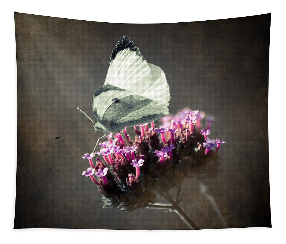 Loriental Tapestry featuring the photograph Butterfly Spirit #02 by Loriental Photography