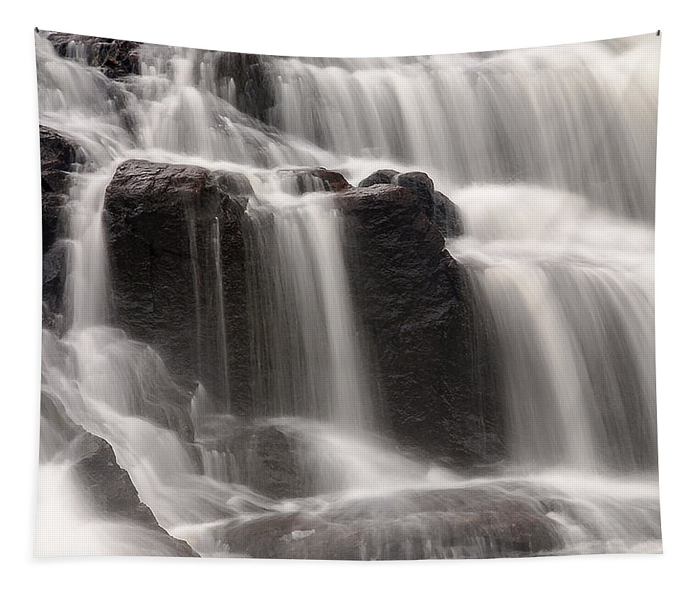 Waterfall Tapestry featuring the photograph Buttermilk Detail by Tony Beaver