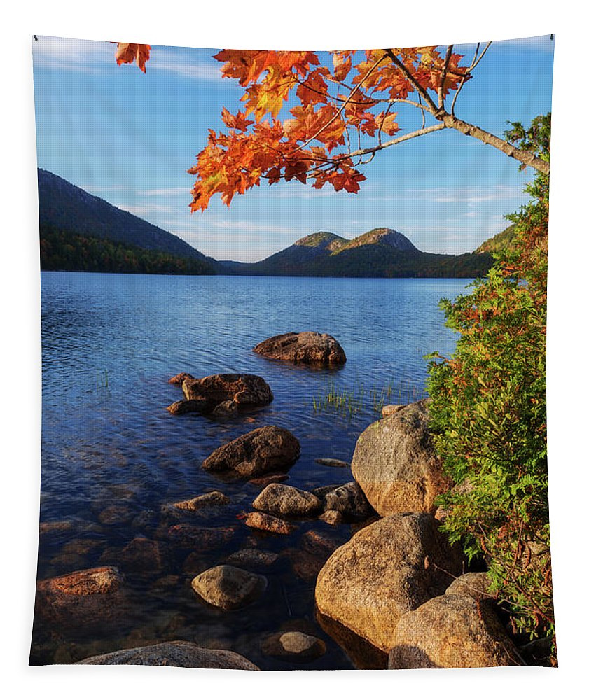 Calm Tapestry featuring the photograph Calm Before The Storm by Chad Dutson