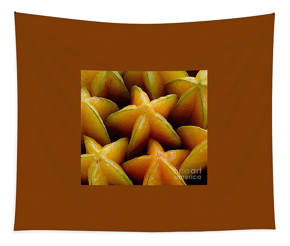 Caranbola Tapestry featuring the photograph Carambola by Dragica Micki Fortuna