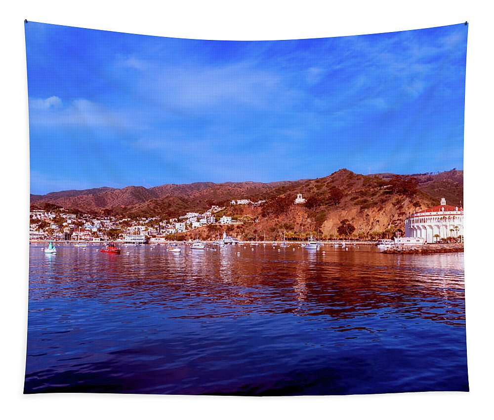 Catalina Island Tapestry featuring the photograph Catalina Island by Mountain Dreams