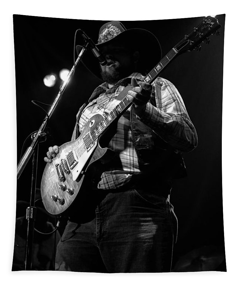 Southern Rock Tapestry featuring the photograph Cdb Winterland 12-13-75 #25 by Ben Upham