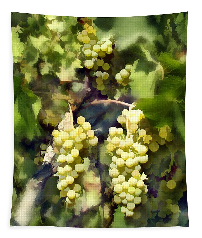 Chardonnay Tapestry featuring the photograph Chardonnay by Kurt Van Wagner