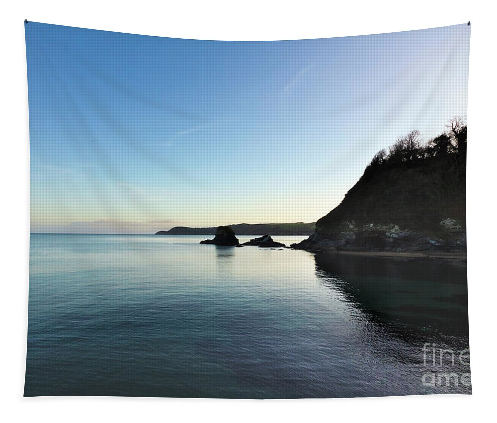Charlestown Tapestry featuring the photograph Charlestown Sunset West by Terri Waters