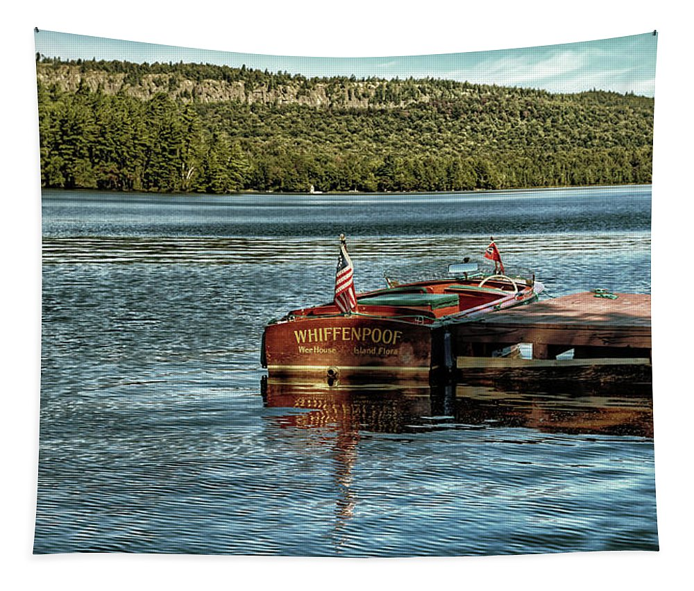 1958 Chris-craft Continental Tapestry featuring the photograph Chris Craft - Vintage 1958 by David Patterson
