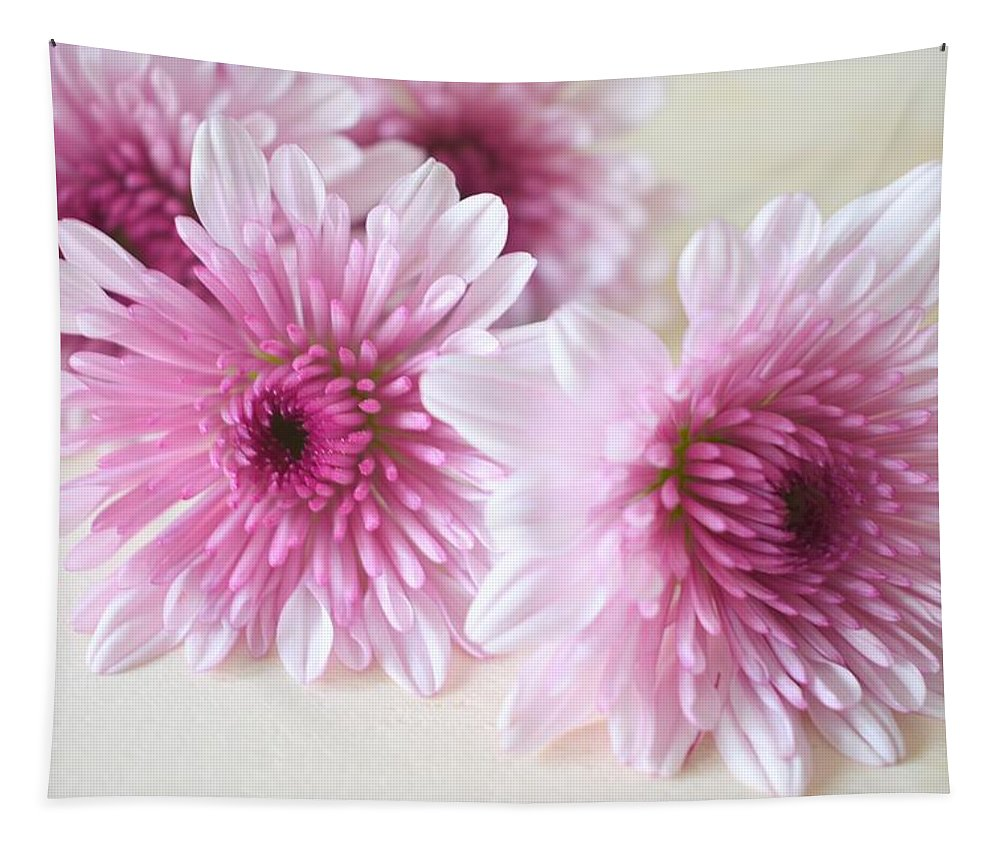 Chrysanthemums Tapestry featuring the photograph Chrysanthemums #009 by Ninie AG