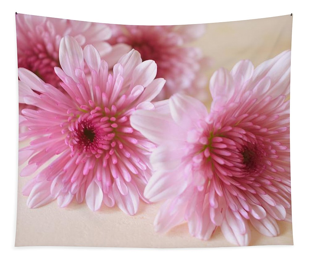 Chrysanthemums Tapestry featuring the photograph Chrysanthemums #010 by Ninie AG