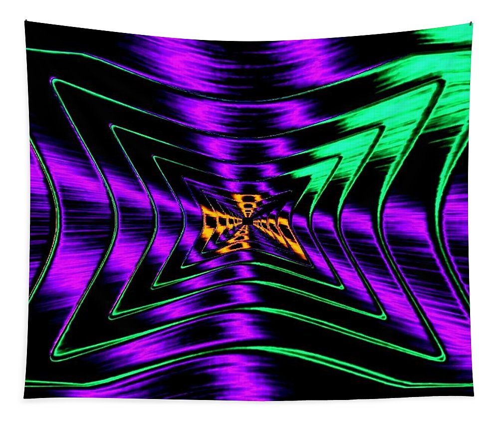 Chutzpah Tapestry featuring the digital art Chutzpah by Will Borden