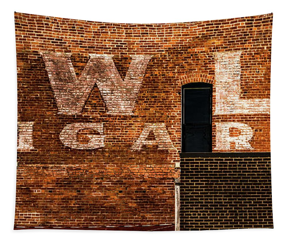 Jay Stockhaus Tapestry featuring the photograph Cigar by Jay Stockhaus
