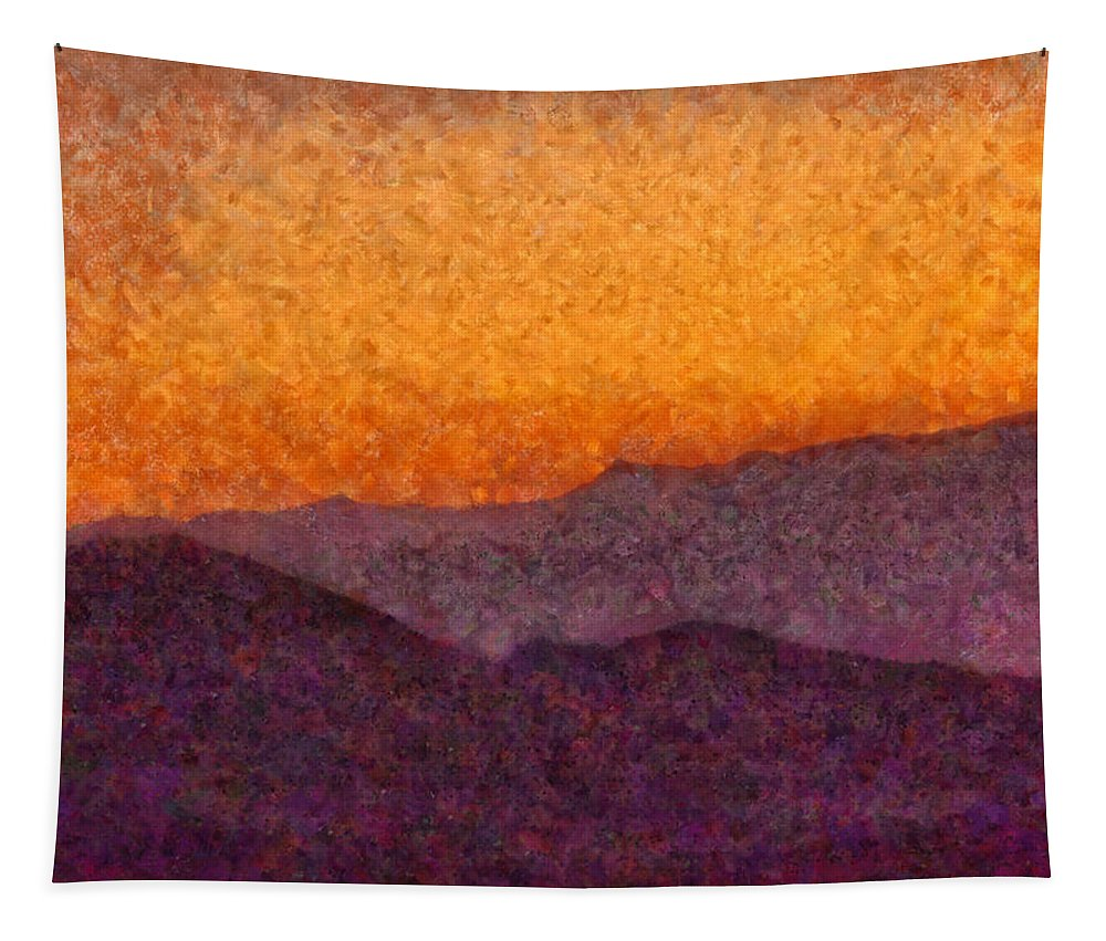 Savad Tapestry featuring the photograph City - Arizona - Rolling Hills by Mike Savad