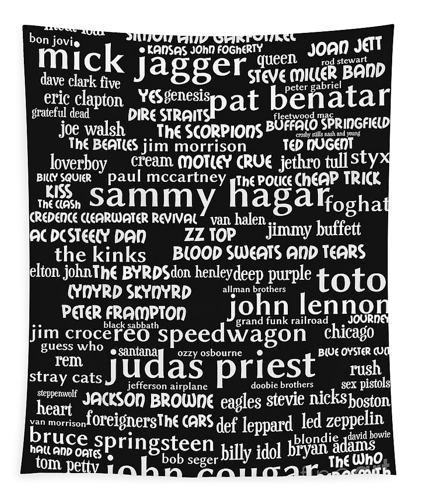 Wingsdomain Tapestry featuring the photograph Classic Rock bw by Wingsdomain Art and Photography