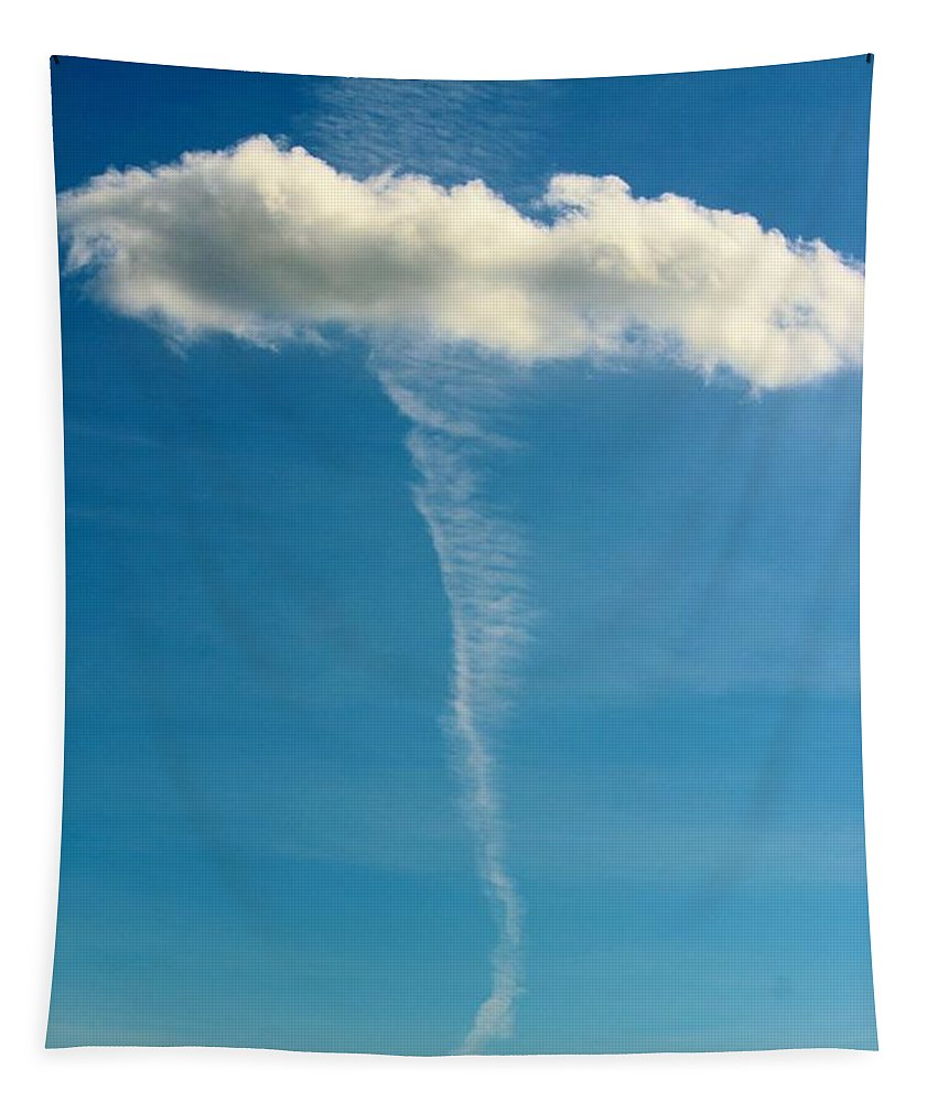 Cloud Tapestry featuring the photograph Cloud Design by Cynthia Guinn
