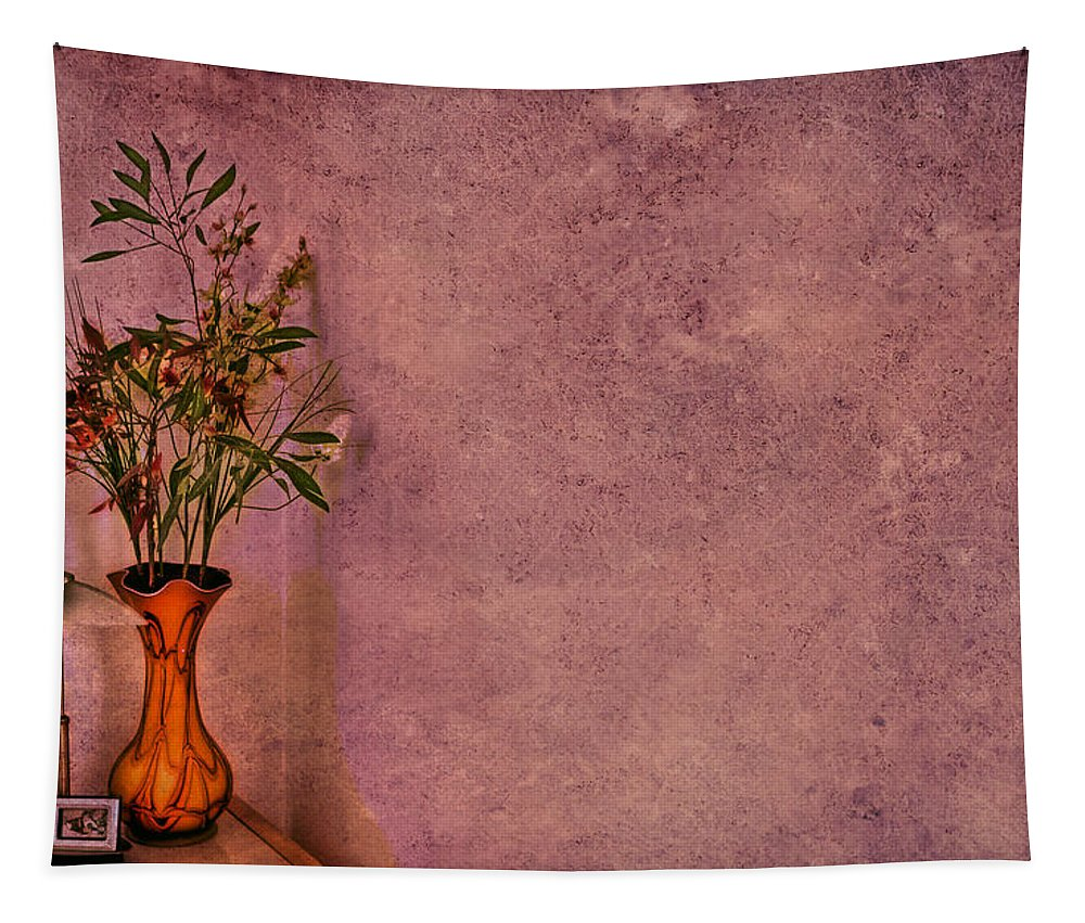Flower Tapestry featuring the photograph Color My Senses by Evelina Kremsdorf