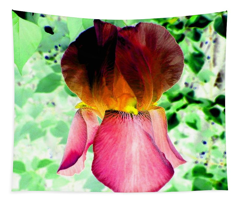 Photo Design Tapestry featuring the digital art Colormax 3 by Will Borden