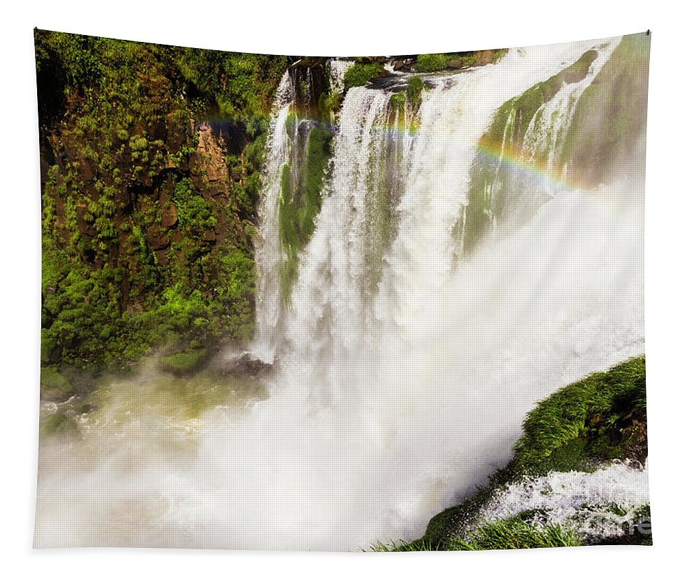 Nature Tapestry featuring the photograph Colors Above The Water by Mirko Chianucci