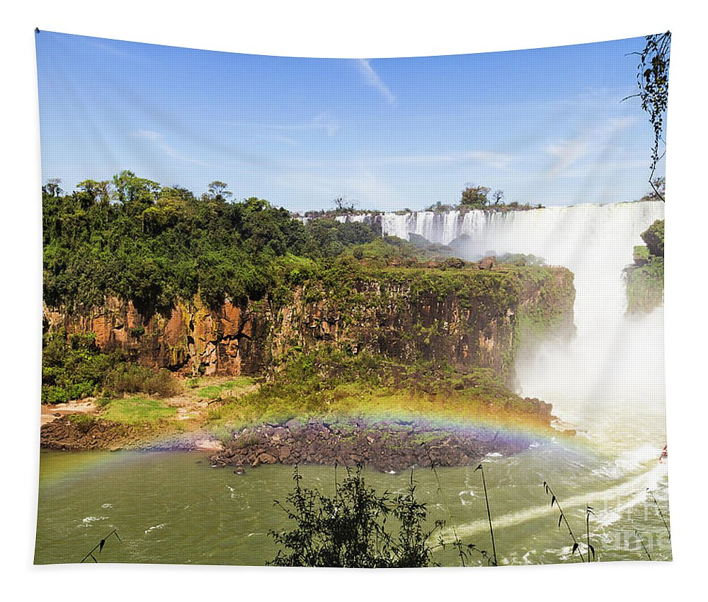 Nature Tapestry featuring the photograph Colors Of Nature by Mirko Chianucci