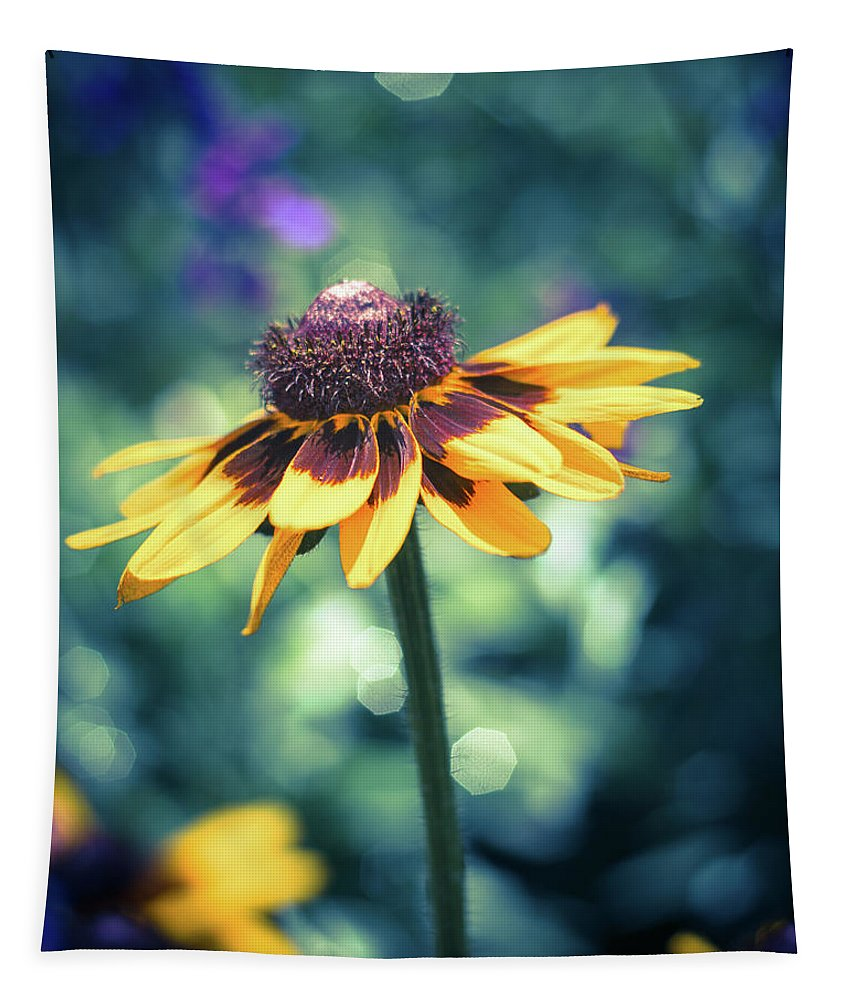Still Life Tapestry featuring the photograph Cone Flower 2 by Robert Alsop