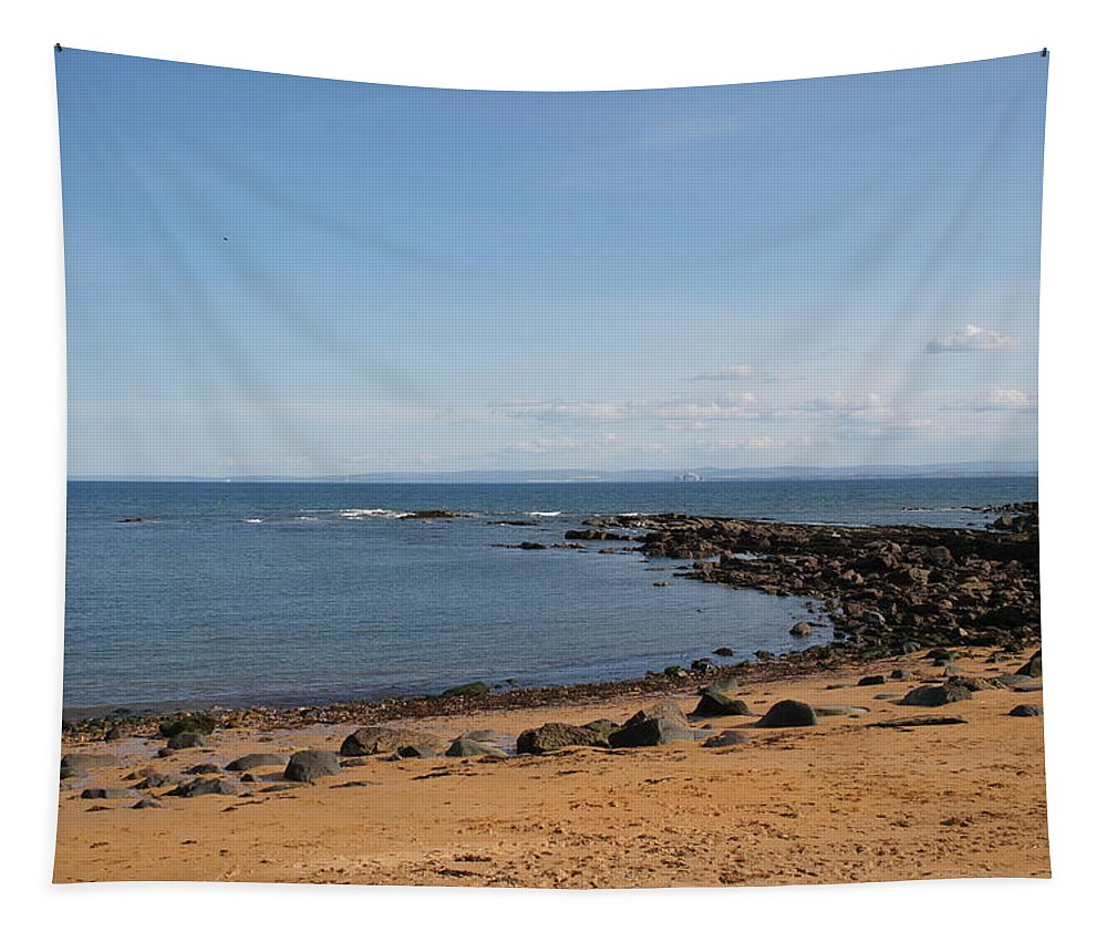Beach And Sea Tapestry featuring the photograph Contemplation by Elena Perelman