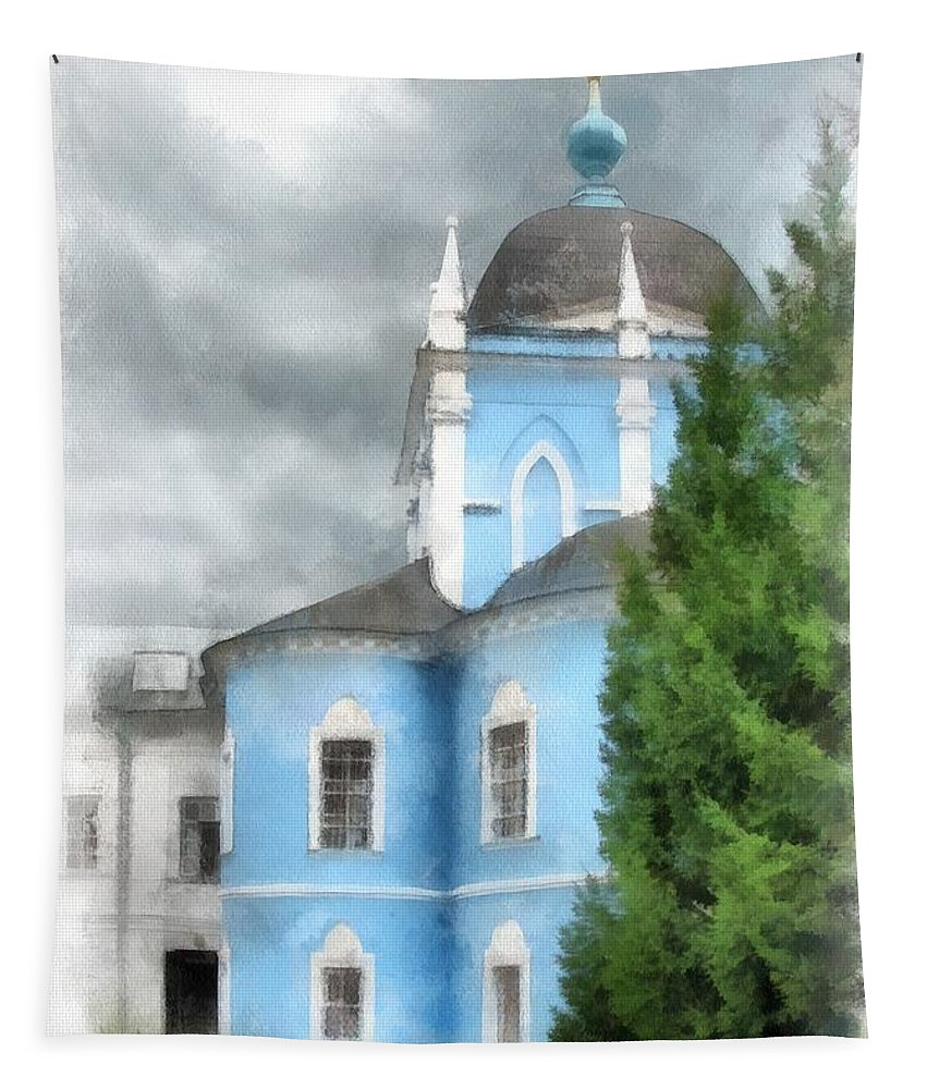 Convent Tapestry featuring the photograph Convent by Sergey Lukashin