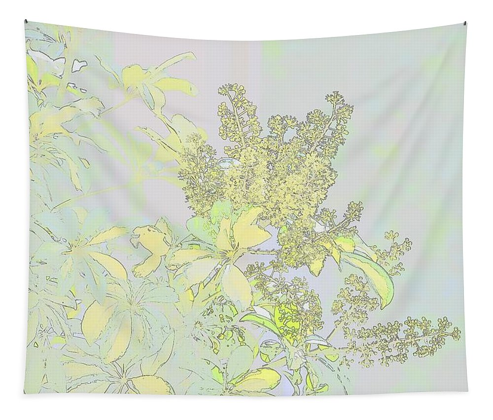 Linda Brody Tapestry featuring the photograph Coprosama Replens Pastel by Linda Brody
