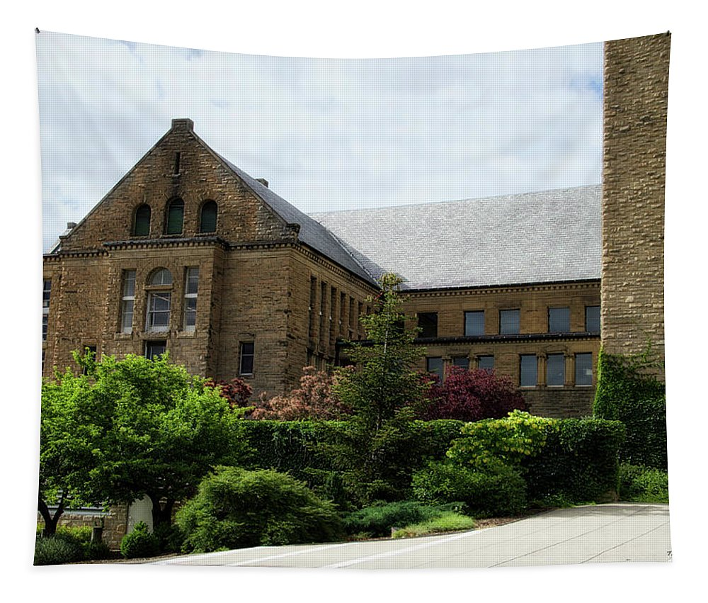 Cornell University Tapestry featuring the photograph Cornell University Ithaca New York 13 by Thomas Woolworth
