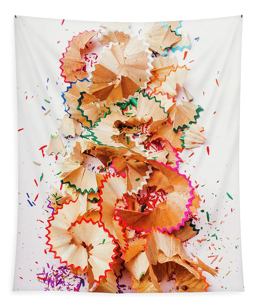 School Tapestry featuring the photograph Creative Mess by Jorgo Photography - Wall Art Gallery