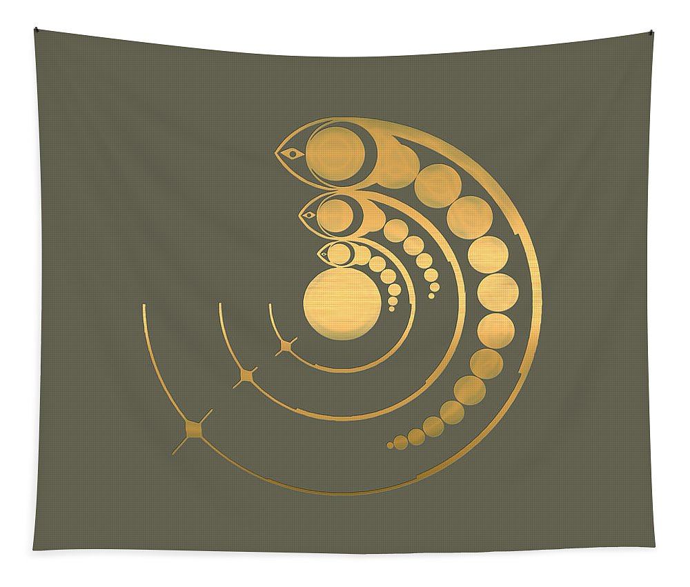 The Signs Collection By Serge Averbukh Tapestry featuring the photograph Crop Circle Formation near Avebury by Serge Averbukh