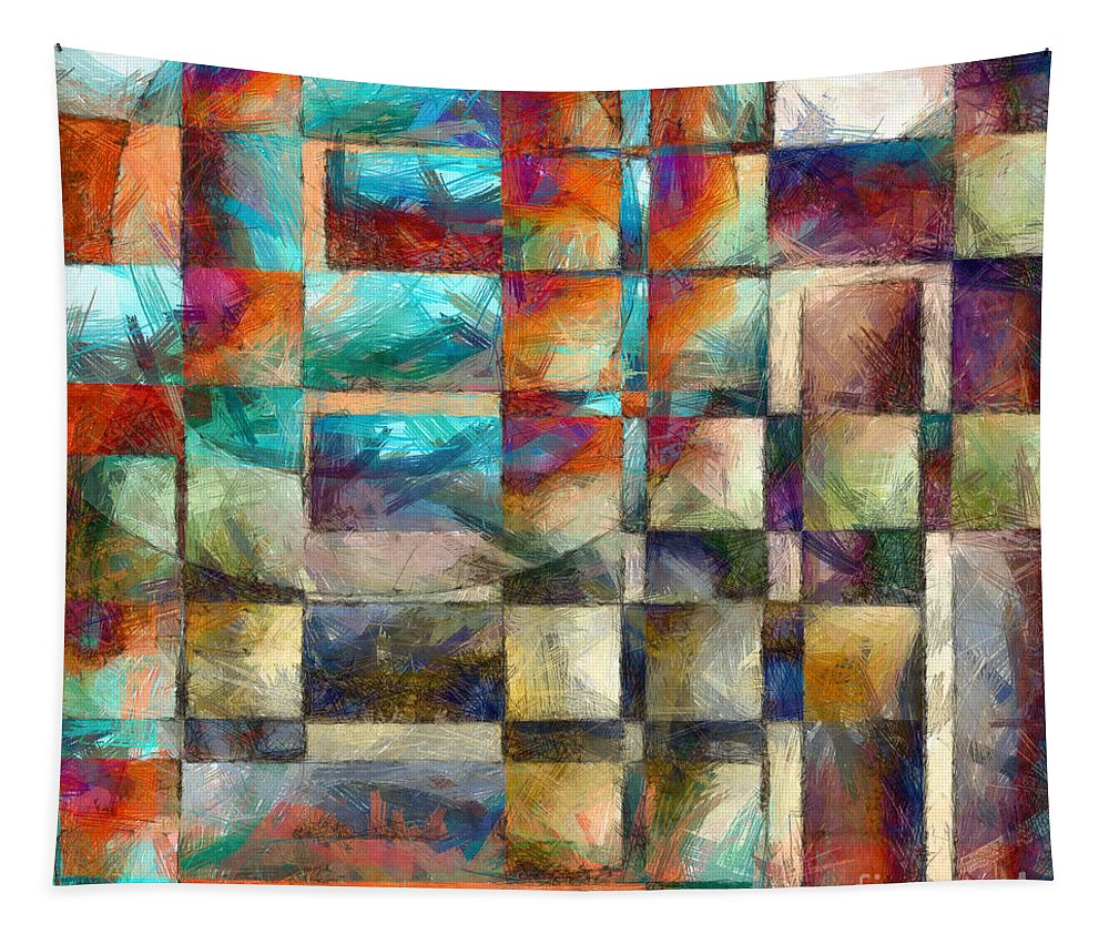 Pillow Tapestry featuring the photograph Crossover Abstract Pencil by Edward Fielding