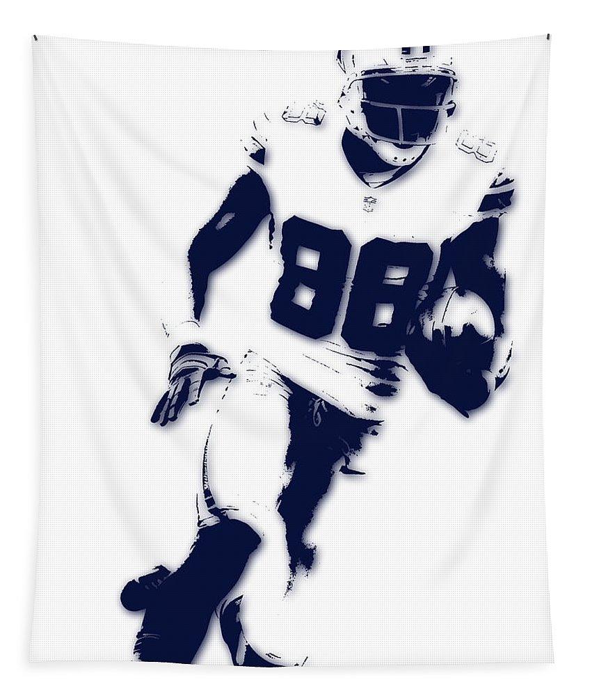 Cowboys Tapestry featuring the photograph Dallas Cowboys Dez Bryant by Joe Hamilton