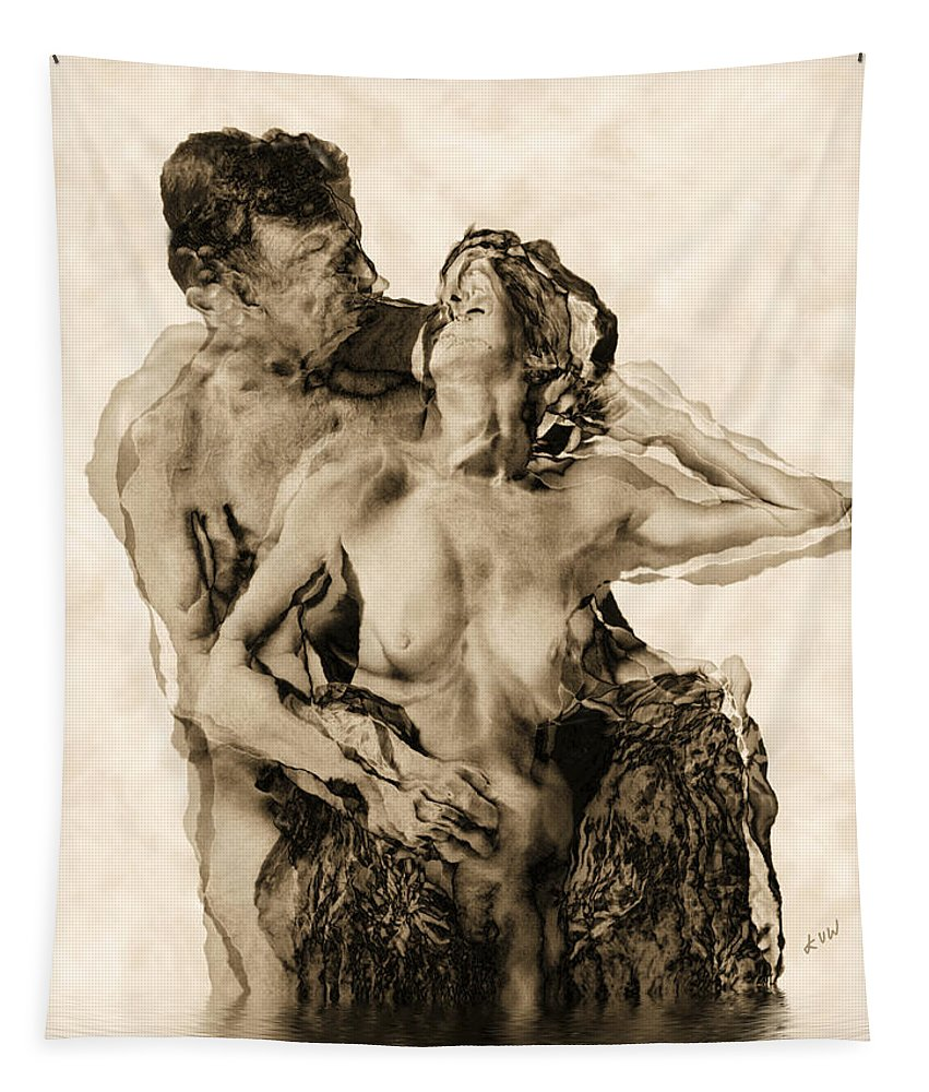 Lovers Tapestry featuring the photograph Dance by Kurt Van Wagner