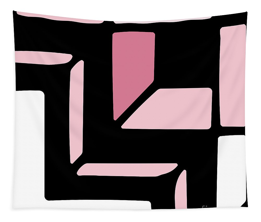 Art Deco Tapestry featuring the painting Daring Deco II by Mindy Sommers