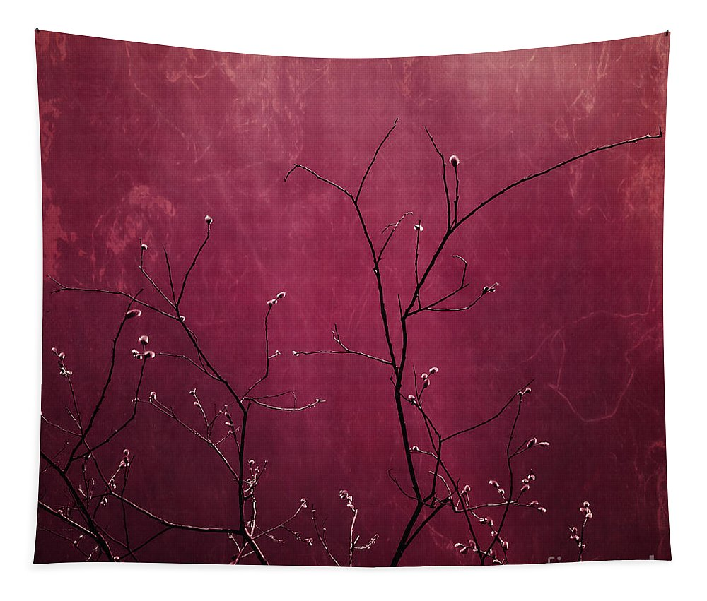 Pink Tapestry featuring the photograph Daring Pink by Priska Wettstein