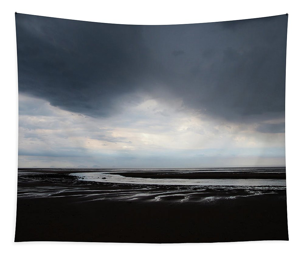Cloud Tapestry featuring the photograph Darker Days by Philip Openshaw