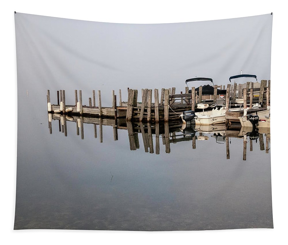 Dawn's Early Light No. 2 Tapestry featuring the photograph Dawn's Early Light No.2 by Phyllis Taylor