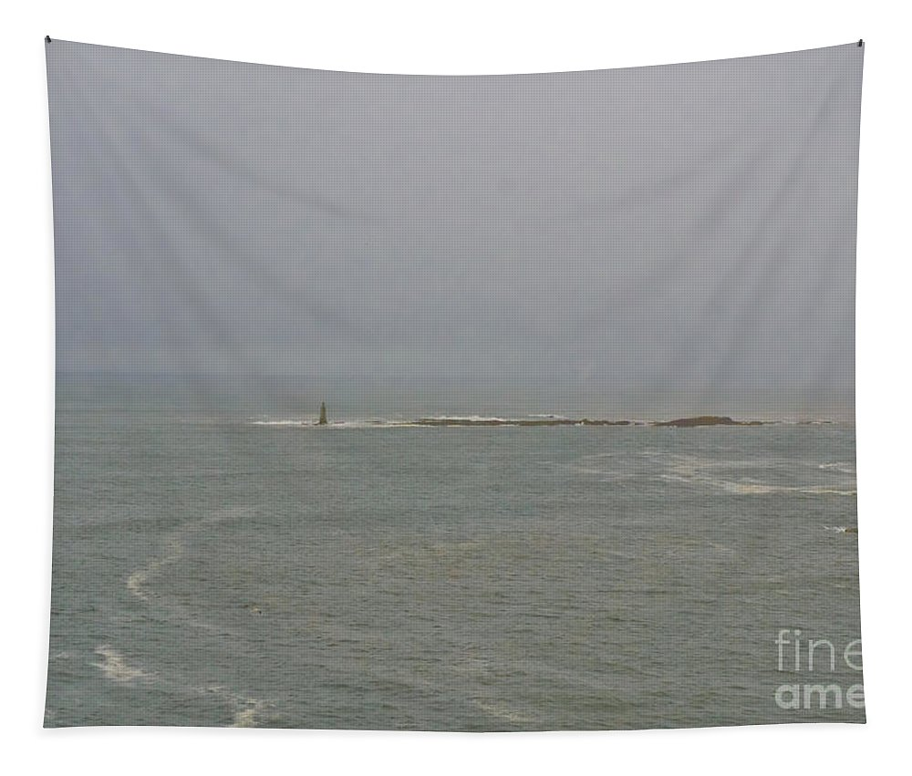 Seascape Tapestry featuring the photograph Dead Mariners Warn You. by Elena Perelman