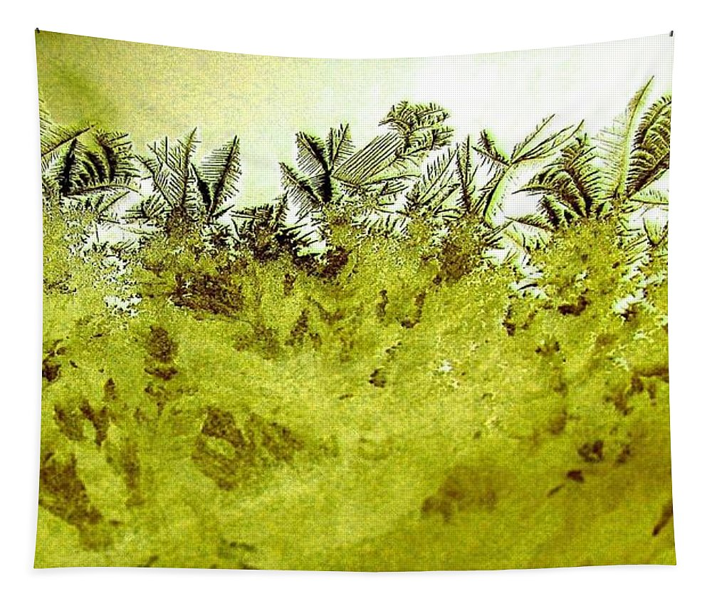 Frost Tapestry featuring the digital art Deep In The Amazon by Will Borden