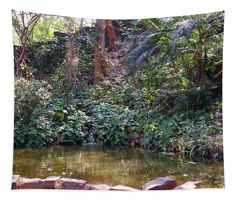 Dense Tapestry featuring the photograph Dense Forest by Nilu Mishra
