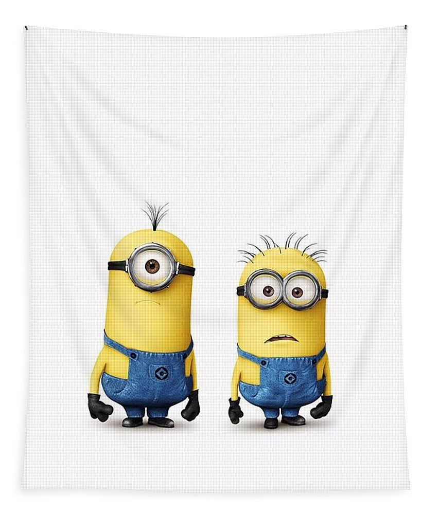 Despicable Me Tapestry featuring the photograph Despicable Me 2 by Movie Poster Prints