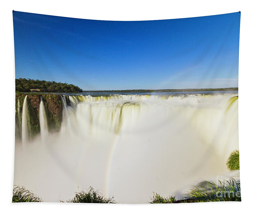 Nature Tapestry featuring the photograph Devil's Throat by Mirko Chianucci