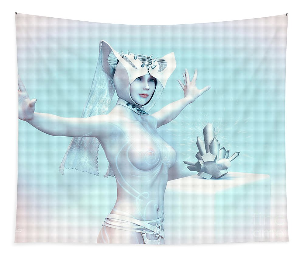 3d Tapestry featuring the digital art Different by Jutta Maria Pusl