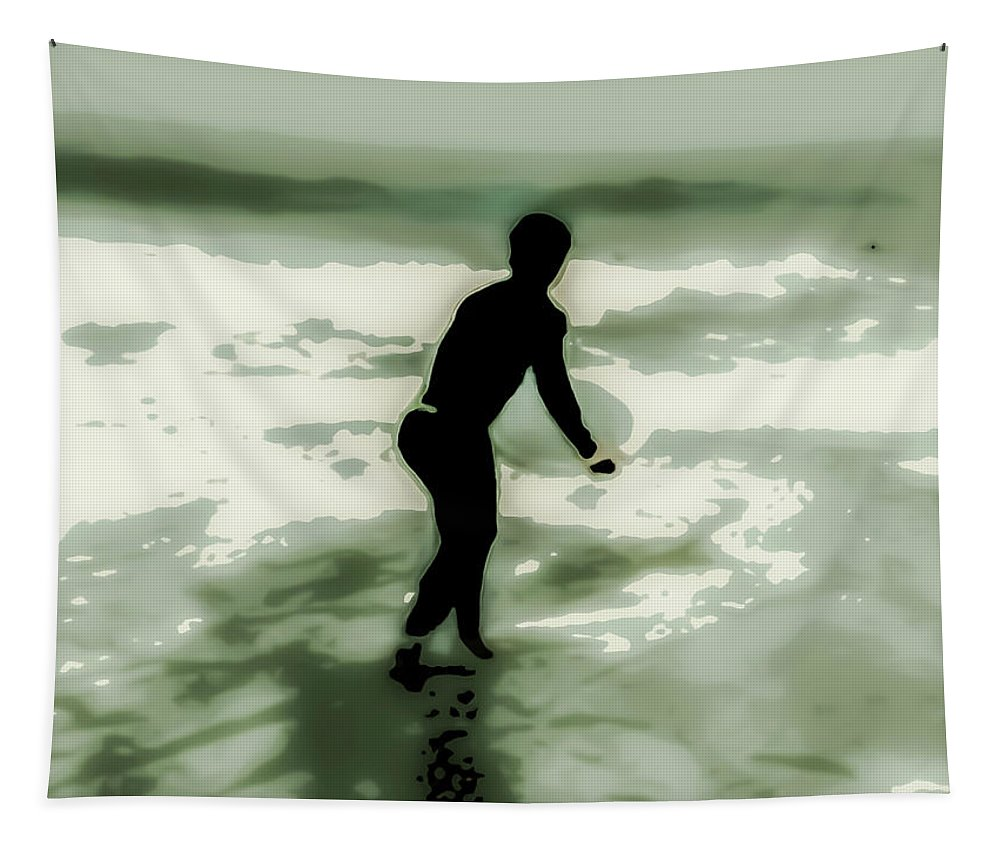 Dive Tapestry featuring the photograph Dive In by Heather Joyce Morrill