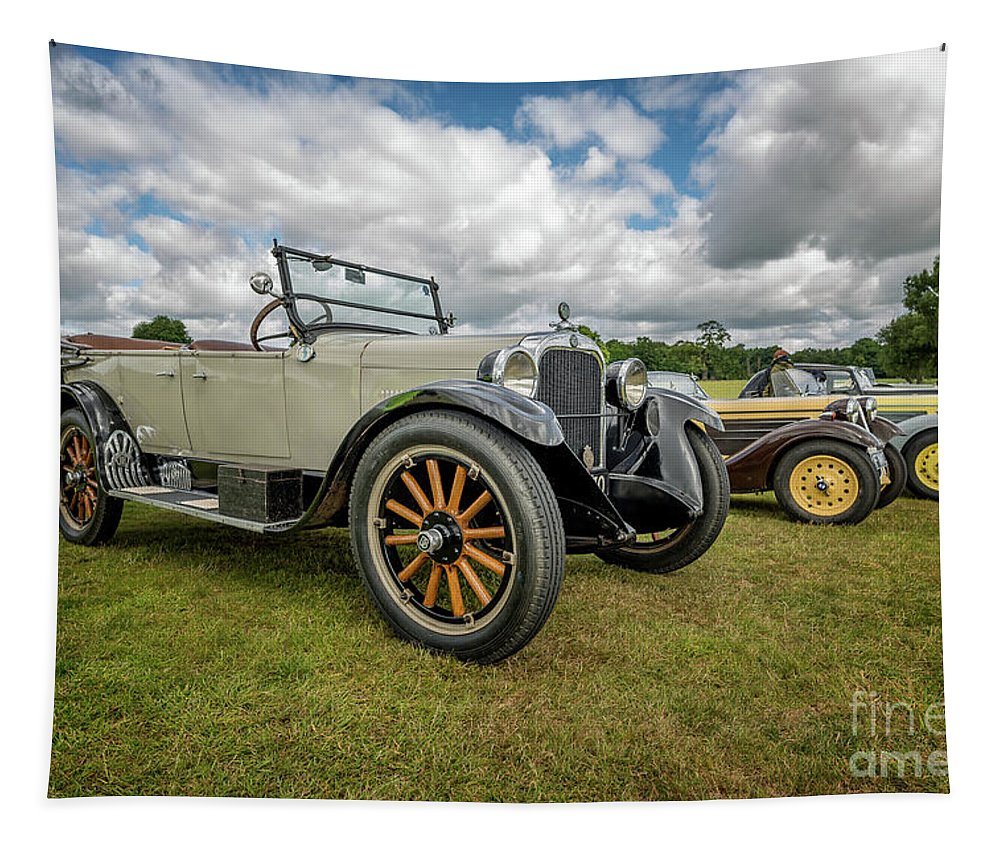 American Tapestry featuring the photograph Dodge Four Tourer by Adrian Evans