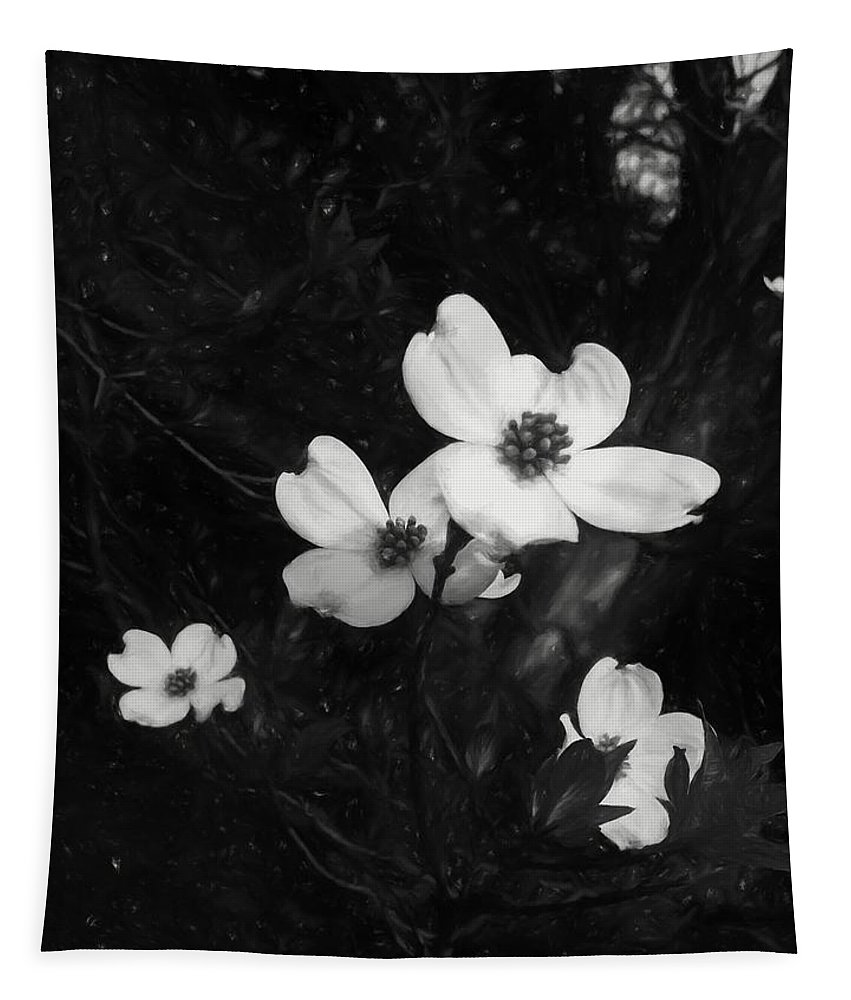 Dogwood Tapestry featuring the photograph Dogwood by Debra Lynch