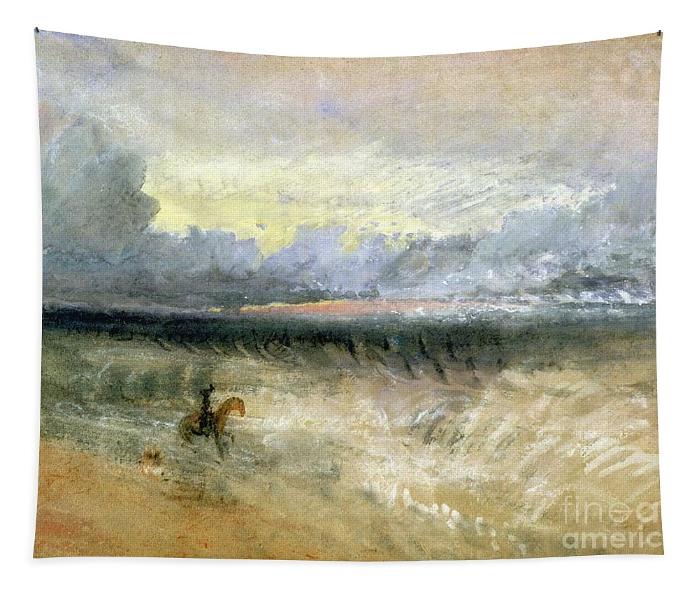 Dover Tapestry featuring the painting Dover by Joseph Mallord William Turner
