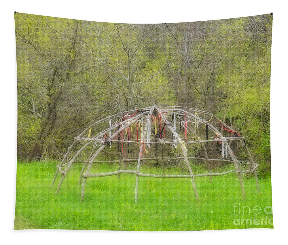 Wigwam Tapestry featuring the photograph Dream Wetus by Gary Richards