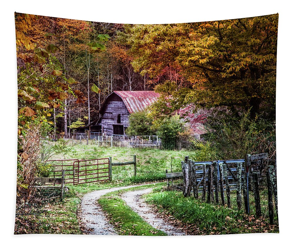 Appalachia Tapestry featuring the photograph Dreams On The Farm by Debra and Dave Vanderlaan