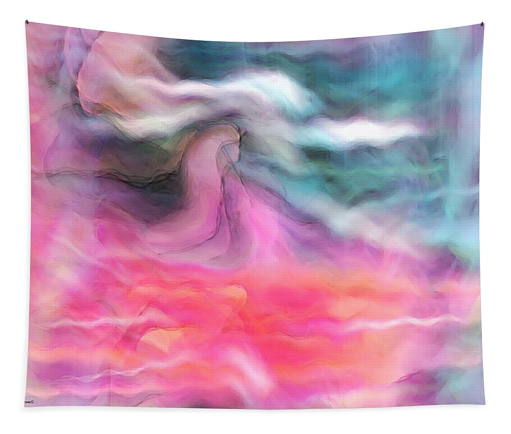 Spiritual Art Tapestry featuring the digital art Dreamscapes by Linda Sannuti