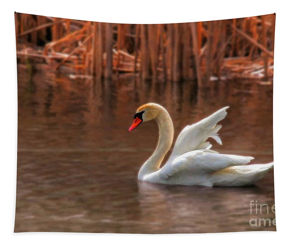 Wildlife Tapestry featuring the photograph Dreamy by Lois Bryan