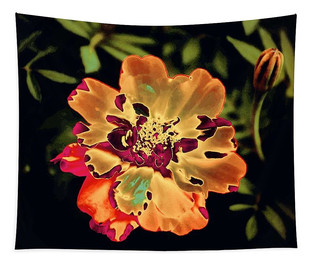 Floral Tapestry featuring the photograph Durango Outback Mix 02 - Photopower 3200 by Pamela Critchlow