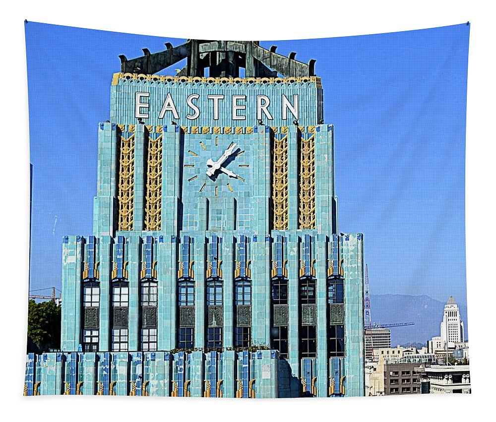 Art Deco Tapestry featuring the photograph Jewel Of Downtown by Betsy Warner